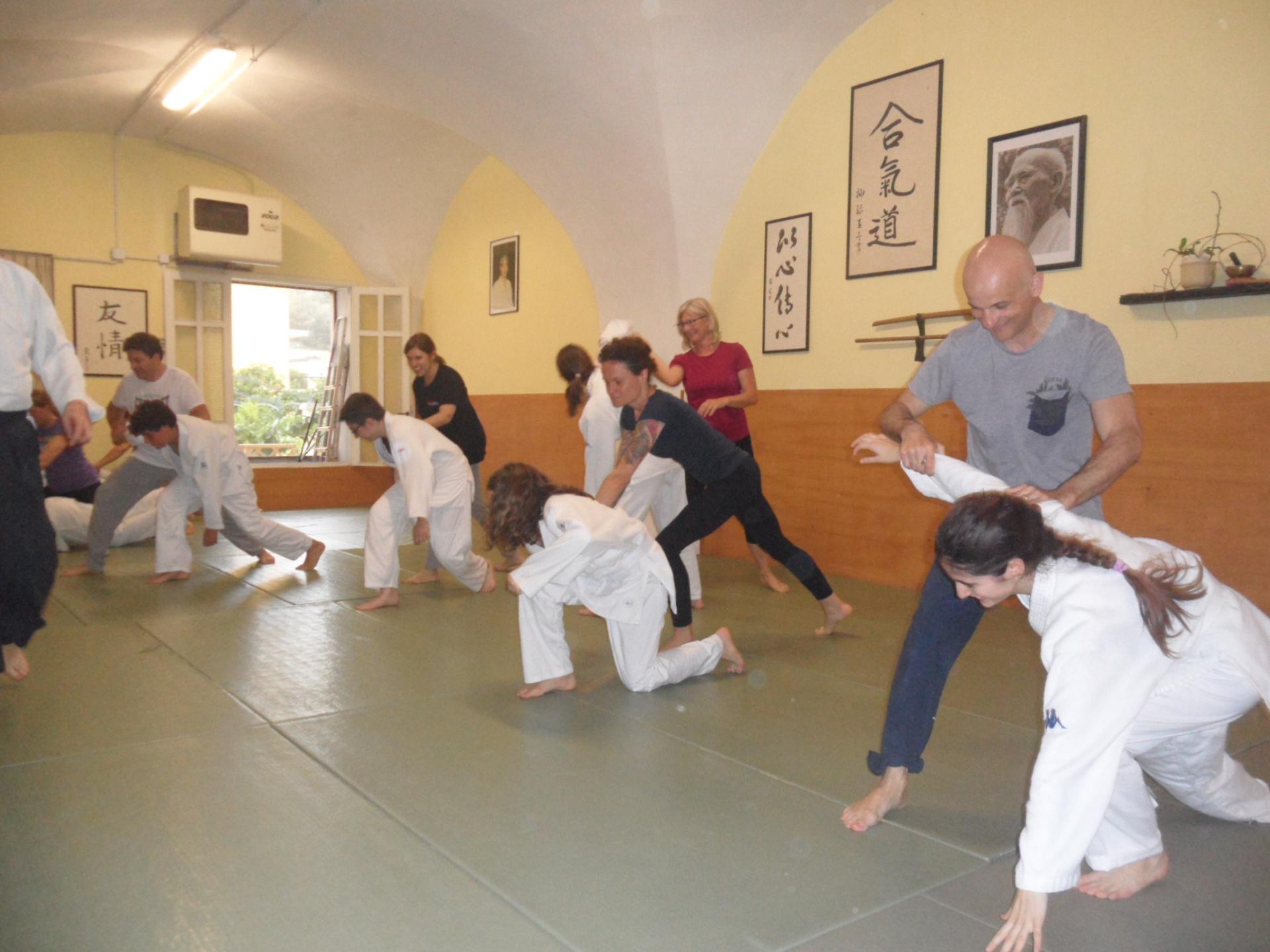 ... e quelli un pò meno giovani (e principianti) samurai!<br><br>